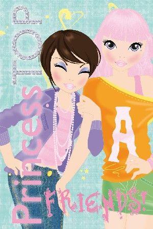 Princess TOP - Friends (green)