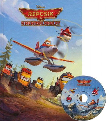 Repcsik - A mentőalakulat + mese CD -  pdf epub