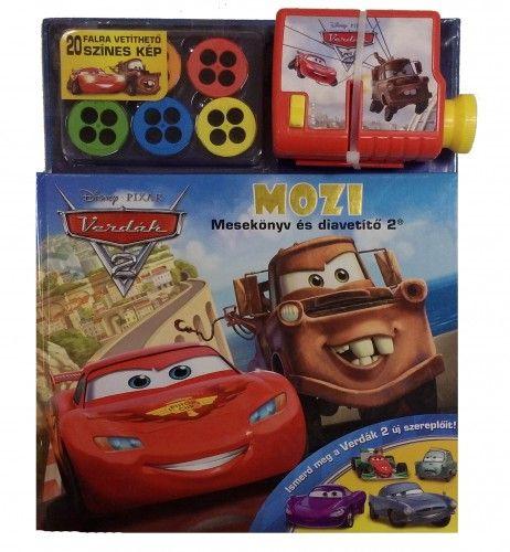 Disney Pixar Verdák 2. - 3D Mozi: Mesekönyv és diavetítő 2.