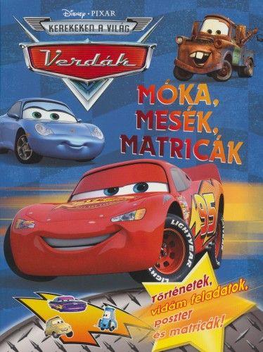 Disney Pixar Verdák - Móka, mesék, matricák -  pdf epub