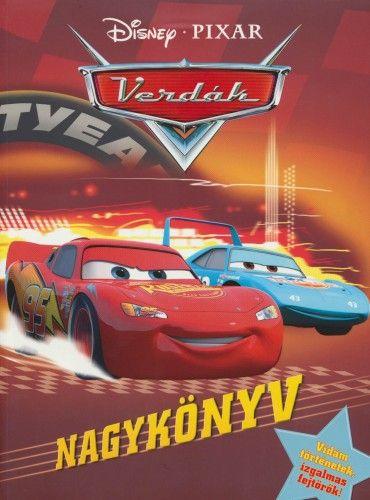 Disney Pixar Verdák - Nagykönyv