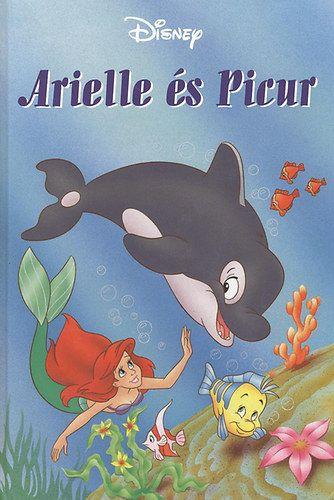 Disney - Arielle és picur + mese CD melléklet