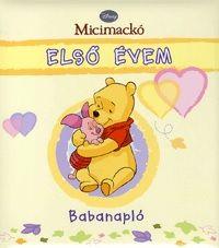 Micimackó első évem Babanapló
