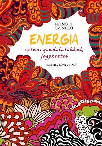 Felnőtt színező - Energia