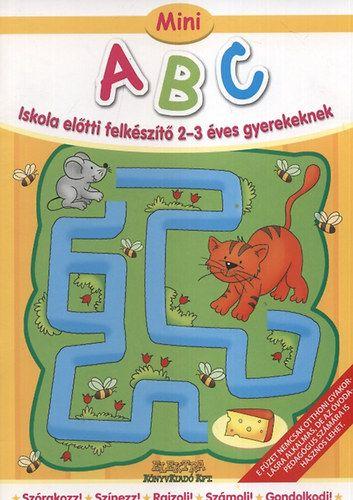 Mini ABC - Iskola előtti felkészítő 2-3 éves gyerekeknek