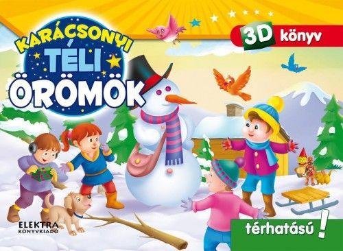 Karácsonyi téli örömök - 3D könyv