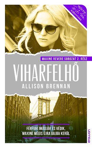 Viharfelhő - Allison Brennan pdf epub
