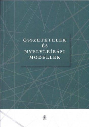 Összetételek és nyelvleírási modellek -  pdf epub