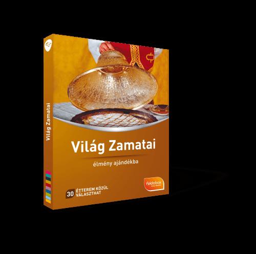 Világ Zamatai ajándékdoboz