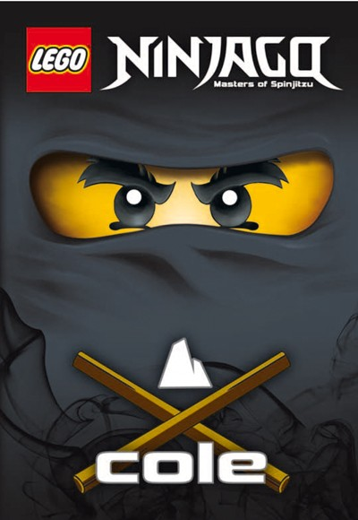 Lego 4. - Cole - Ninjago Masters of Spinjitzu