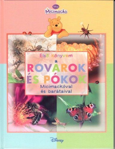 Micimackó - Első könyvem a… Rovarok és pókok