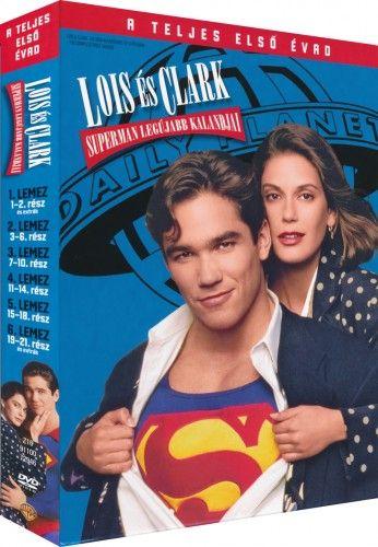 Lois és Clark - Superman legújabb kalandjai 1. évad - DVD