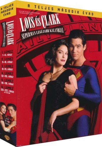 Lois és Clark - Superman legújabb kalandjai 2. évad - DVD
