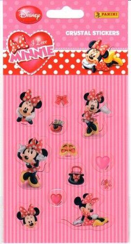 Matrica - I love Minnie / Crystal stickers 2.