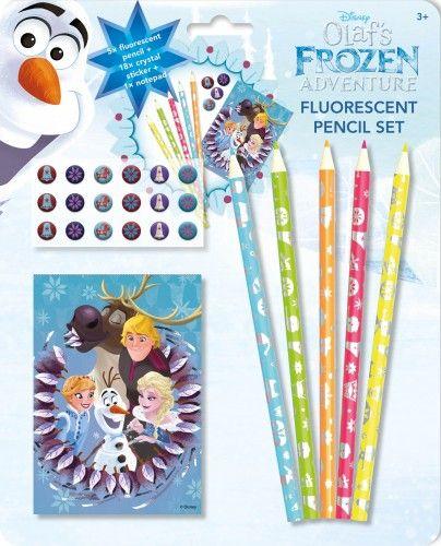 Olaf - Fluoreszkáló ceruzák