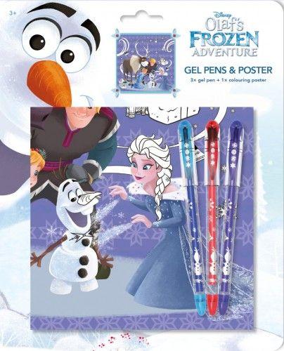 Olaf - Zselés tollak poszterrel