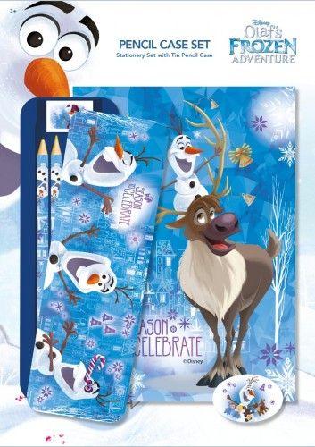 Olaf - Ceruzák fém dobozzal