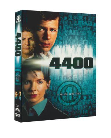 YvesSimoneau,HelenShaver,DavidStraiton,NickGomez,TimHunter - 4400 -  a teljes 1. évad DVD