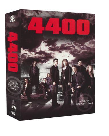 4400 - a teljes 4. évad DVD