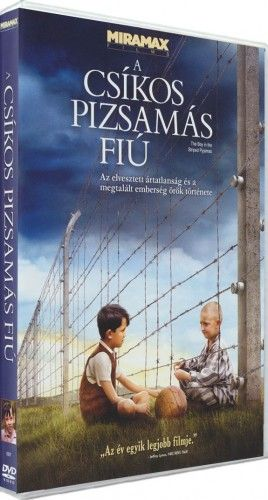 Mark Herman  - A csíkos pizsamás fiú-DVD