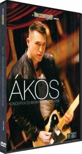 Ákos koncertek és werkfilmek 2000-2009-DVD
