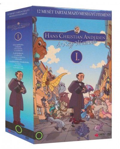 Andersen 1. díszdoboz  (3 DVD - A kis hableány, A rút kiskacsa, A rendíthetetlen ólomkatona)