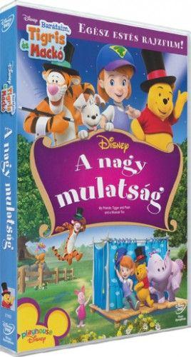 Barátaim, Tigris és Mackó: A nagy mulatság-DVD