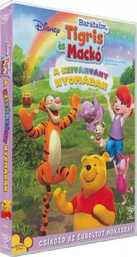 Barátaim, Tigris és Mackó: A szivárvány nyomában-DVD