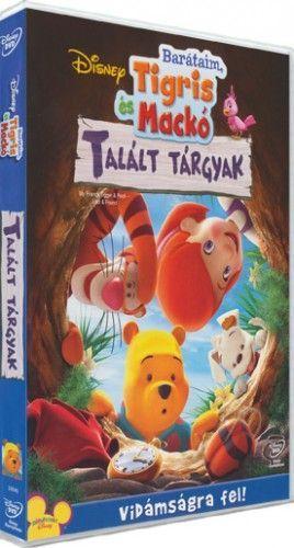 Barátaim, Tigris és Mackó: Talált tárgyak-DVD