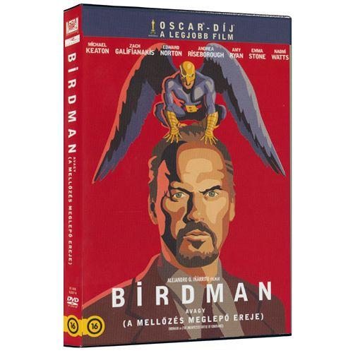 Birdman (Piros)-DVD