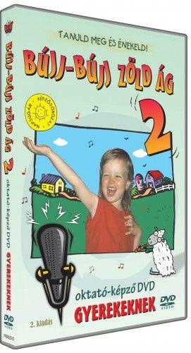 BÚJJ-BÚJJ ZÖLD ÁG 2 oktató-képző DVD gyerekeknek
