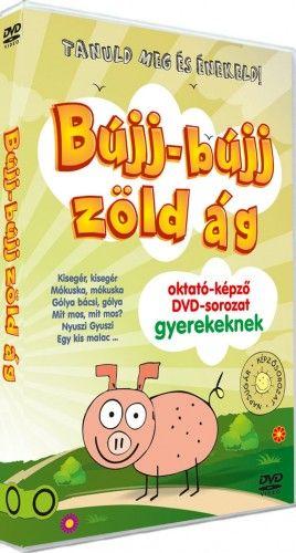BÚJJ-BÚJJ ZÖLD ÁG oktató-képző DVD gyerekeknek
