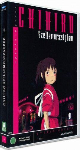 Chihiro Szellemországban-DVD