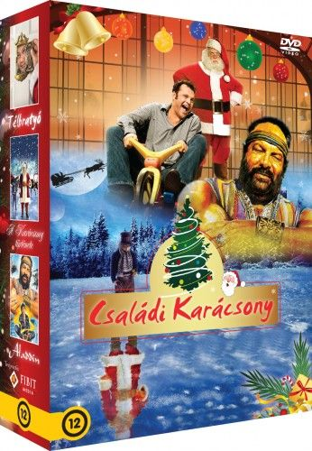 Családi karácsony díszdoboz (3 DVD) Télbratyó, A karácsony története, Aladdin
