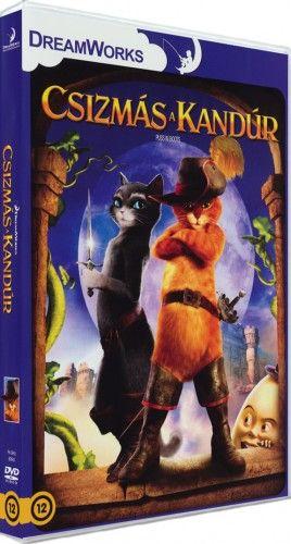Csizmás, a kandúr-DVD