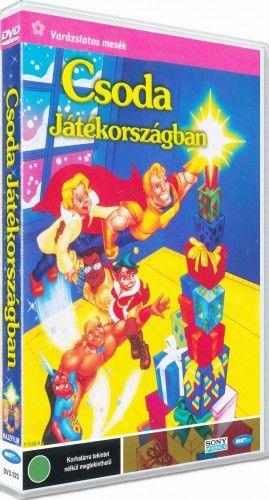 Csoda játékországban-DVD