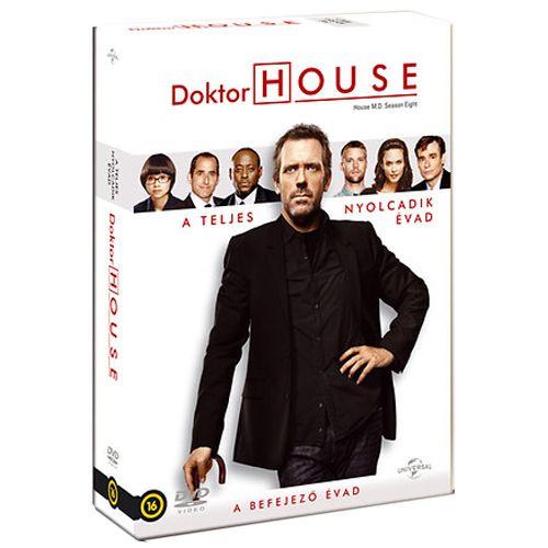 Doktor House - a teljes 8. évad (6 DVD)