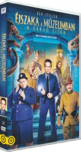 Éjszaka a múzeumban - a Fáraó titka-DVD