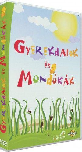 Gyerekdalok és mondókák (1 lemezes változat)-DVD