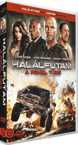 Halálfutam - Pokol tüze - DVD
