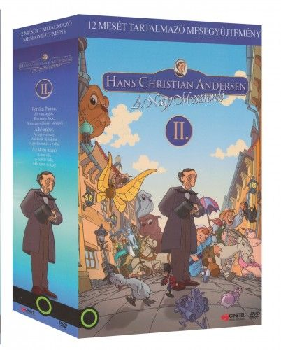 Hans Christian Andersen: A nagy mesemondó gyűjtemény II. - DVD