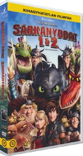 Így neveld a sárkányodat 1+2 (2 DVD)