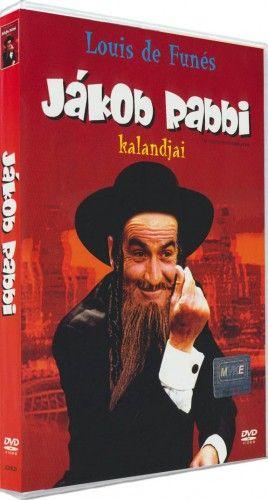 Gérard Oury  - Jákob Rabbi kalandjai-DVD