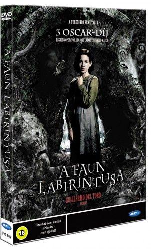 Guillermo Del Toro - A Faun labirintusa -DVD