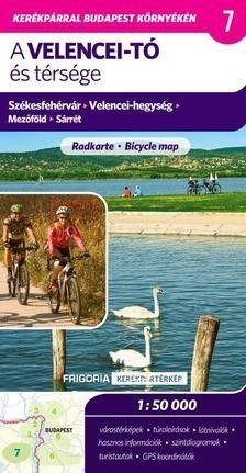 A Velencei-tó és térsége - Kerékpártérkép, 2., aktualizált kiadás, 1:50000