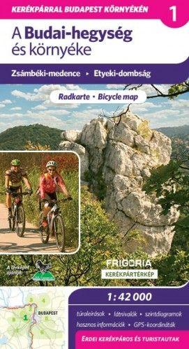 A Budai-hegység és környéke - kerékpártérkép