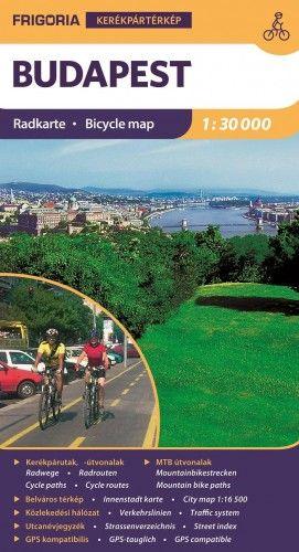 Budapest kerékpáros térkép