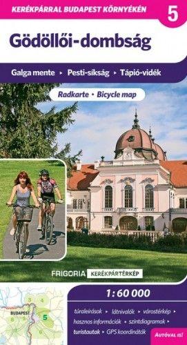 Gödöllői-dombság kerékpártérkép - 1:60000