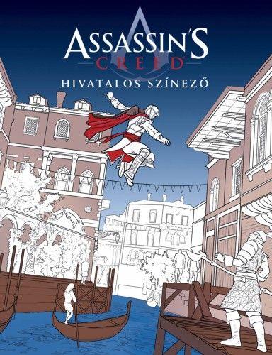 Assassin's Creed - Hivatalos színező -  pdf epub