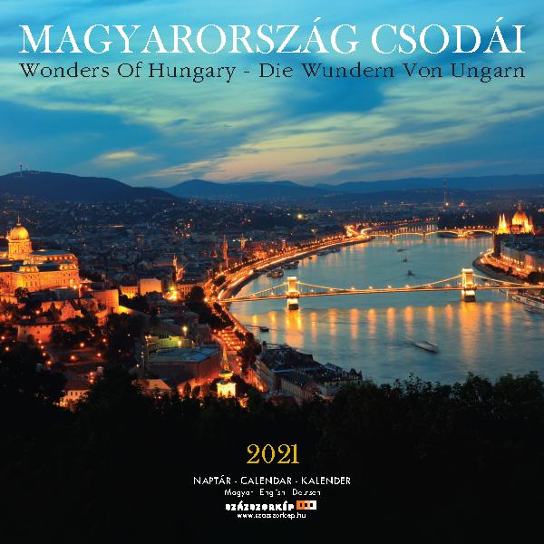 Magyarország Csodái naptár 2021